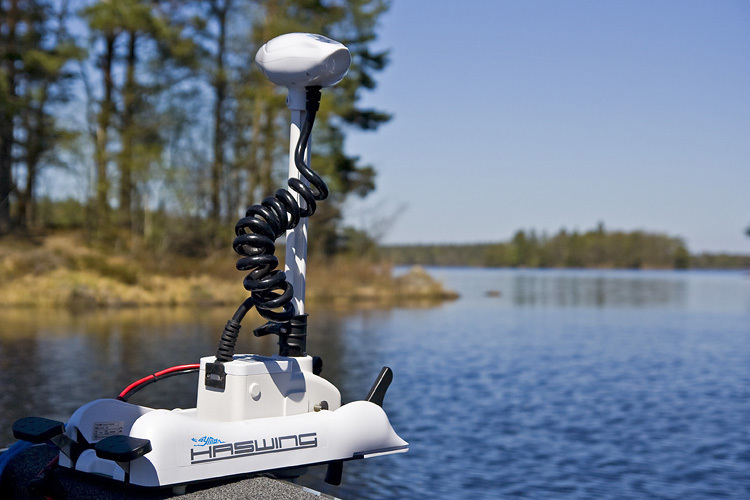 Cayman B Bow Mount Outboard Engine